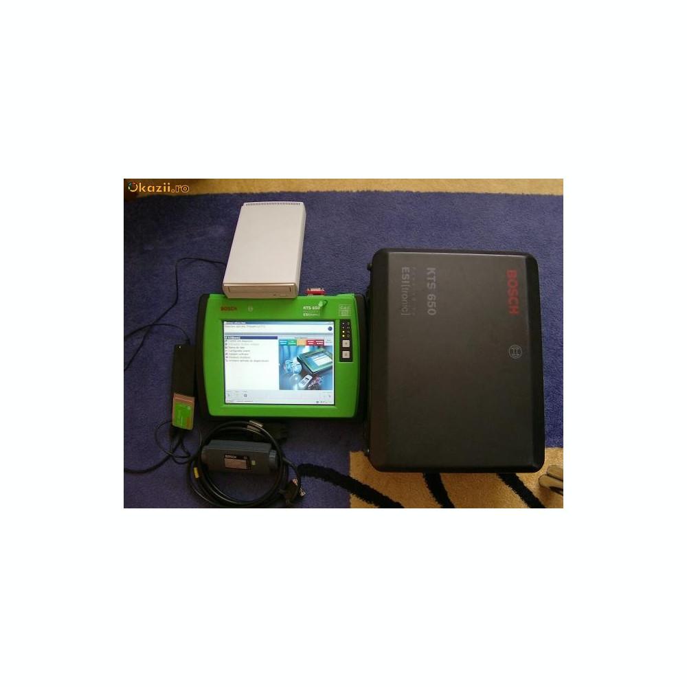 vand cel mai performant tester de diagnoza bosch kts 650. Black Bedroom Furniture Sets. Home Design Ideas