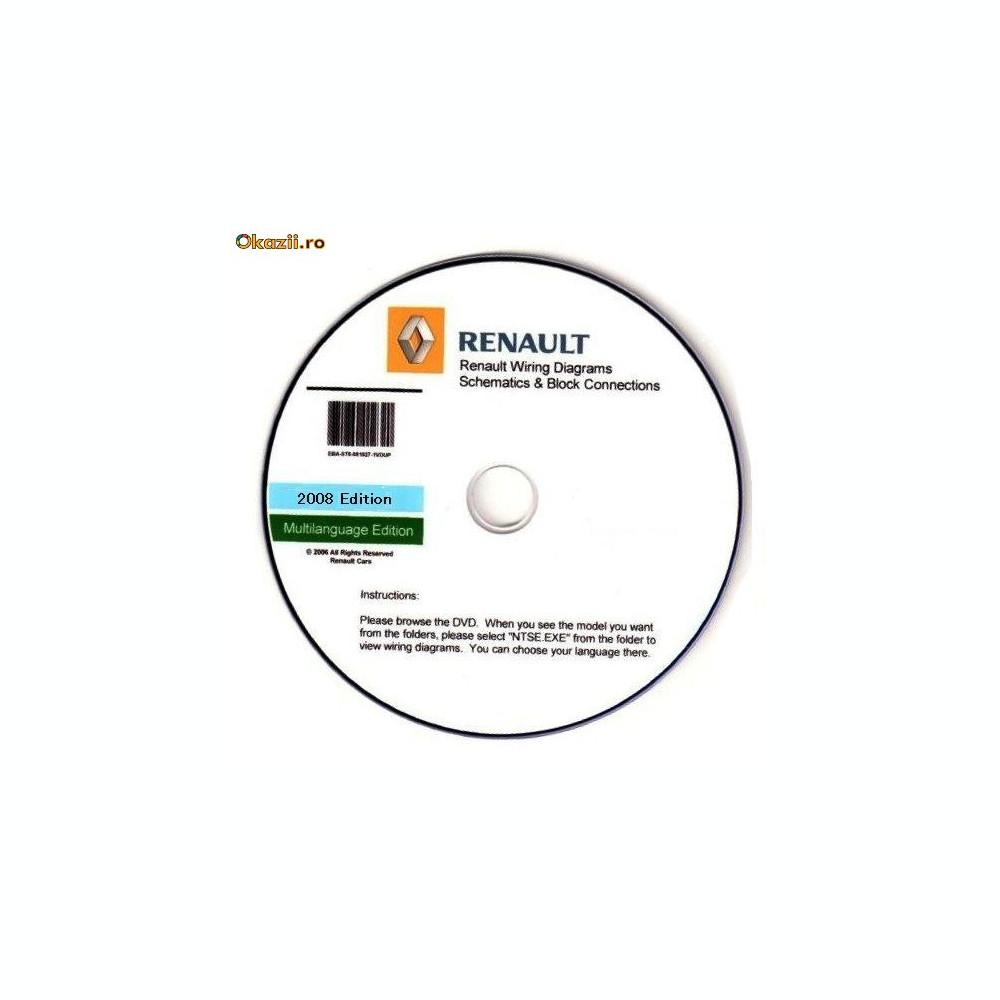 Renault Visu (Wiring Diagrams) foto. Mărește imagine