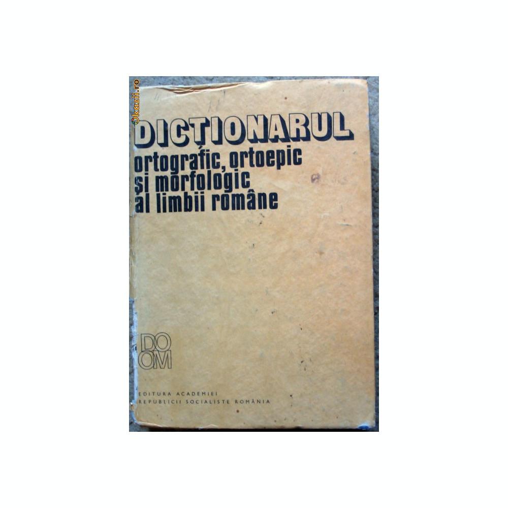 Dictionarul ortografic ortoepic si morfologia online dating