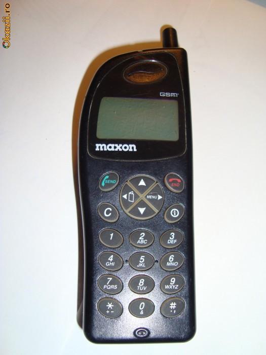Vand Telefon Mobil Maxon Mx 3204 Primele Telefoane Aduse