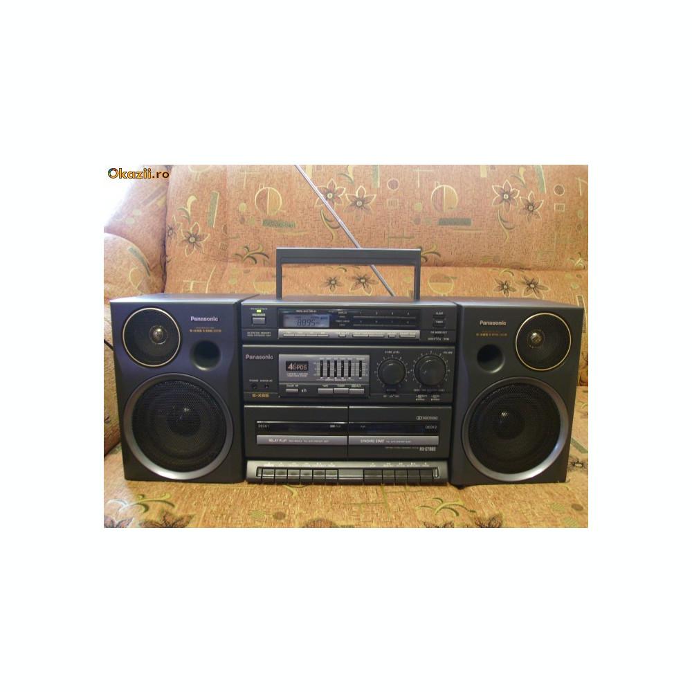Radiocasetofon -Casetofon Vintage PANASONIC RX-CT 980