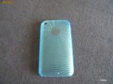 Carcasa iPhone 3G 3GS - MODEL DEOSEBIT BLUE - POZA REALA!