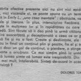 Marguerite duras - emily l. - Roman, Anul publicarii: 1990