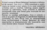 Elena balamaci - xena si umbrele ei, 1981