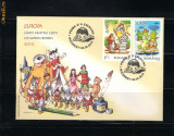 ROMANIA-2010  EUROPA:CARTI PENTRU COPII -FDC- LP 1862 c