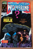 Wolverine  Vs. The Hulk  #58 . Marvel Comics