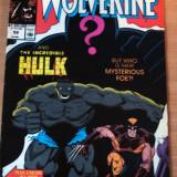 Wolverine Vs. The Hulk #58 . Marvel Comics - Reviste benzi desenate Altele