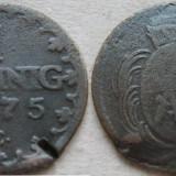 Saxonia 1 pfennig 1775 C - Moneda Medievala