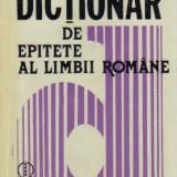 marin buca - dictionar de epitete ale limbii romane