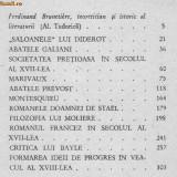 Ferdinand brunetiere - studii de literatura franceza - Carte in franceza