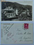Manastirea Bistrita , Valcea , circulata ,  1942 , cenzura , stare exceptionala