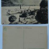 Orsova , Portul , inceput de secol 20 , stare excelenta