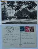 Sibiu , Hotel Bulevard , circulata , 1933 , stare excelenta, Printata