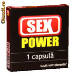 Sex Power - capsula pentru ultra potenta