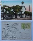 Cumpara ieftin Lacu - Sarat , Baile , circulata , 1916 , stare exceptionala