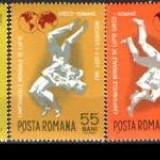 LP 655 - Campionatul mondial de lupte greco-romane, Sport, Nestampilat