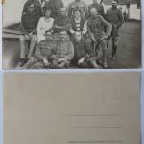 Militari austro - ungari din Bucovina - Fotografie veche