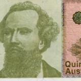 Argentina 500 austales unc