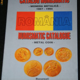 CATALOG NUMISMATIC - MONEDA METALICA 1867-1994 Romania