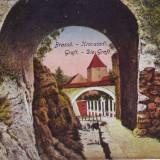 Romania, Brasov, carte postala circulata, cenzurata 1919: Graft