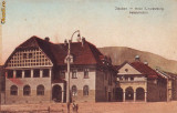 Ok-0300- Romania, Codlea -Zeiden, c.p. necirc. aprox.1910: Hotel Schwarzburg, Necirculata, Fotografie