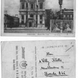 ILUSTRATA TIMISOARA 1930,studenteasca, stamila LICHTENSTEIN