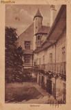 Ok-0384- Romania, Hermannstadt, Sibiu, c.p.1918, circulata 1921: Primaria, Fotografie