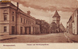 Ok-0400- Romania, Hermannstadt, Sibiu, c.p. necirc. apr.1908: Teatru,Turnuri, Necirculata, Fotografie
