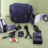 CAMERA VIDEO PANASONIC VDR-D50 - STARE F. BUNA, 2-3 inch, DVD, CCD, Peste 40x