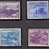 SERIE ROMANIA MICHEL NO. 782-789 , 1943, Centenarul artileriei