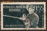 IFC - Romania 1953 - LP 350 Ziua Minerului - stampilat