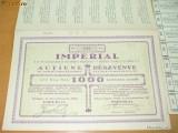 """Obligatiune""""Imperial -Cultivarea Ardeiului """", 1928"""