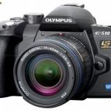 Olympus E510 + 3 obiective + alte accesorii