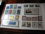 ST-86=CHINA ANUL 1986= 51 timbre si 4 colite ,MNH(**), Nestampilat