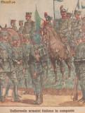 Ziarul Universul : uniformele armatei italiene (1915), ww1
