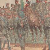 Ziarul Universul : uniformele armatei italiene (1915) - Fotografie veche