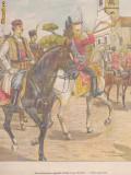 Ziarul Universul : incoronarea Regelui Petru I al Serbiei (1904), gravura