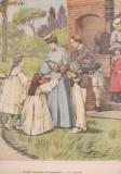 Ziarul Universul : viitorii suverani ai Germaniei (1904,gravura
