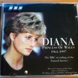 Diana Princess Of Wales BBC Funeral Service *RARITATE* - Muzica Dance