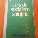 1469 M.E.I.-Curs de socialism stiitific