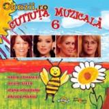 CUTIUTA MUZICALA 6 (CD) SIGILAT!!! - Muzica Dance
