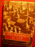 Paul Keres - Teoria Deschiderilor in SAH - 1952