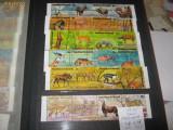 BLOC TIMBRE ANIMALE P, A, BURUNDI 1975