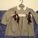 Rochie eleganta din stofa pt fetite, Din imagine