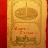 M. PASCANU - MOARTEA CLEOPATREI - 1920 - Carte traditii populare