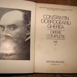 OPERE COMPLETE de CONSTANTIN DOBROGEANU GHEREA VOL. 4 - Roman, Anul publicarii: 1977