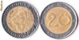 ALGERIA 20 DINARI 2007