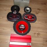 STATIE, BOXE, SISTEM AUDIO AUTO SONY XPLOD, CADOU - Pachete car audio auto