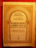 Letopisetul T. Moldovei - Gr.Ureche si Simion Dascalul-1934