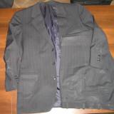 Costum barbati Gordon Granford negru, 3 nasturi, Normal, Fuchsia, Lana